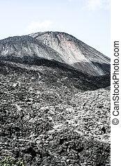 Volcano Fuego in Guatemala