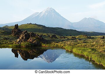 Volcano on Kamchatka