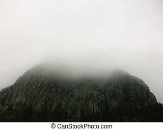Volcano on the island of Jeju South Korea