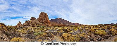 Volcano Teide in Tenerife island - Canary Spain