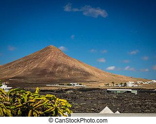 Volcanoe in central Lanzarote