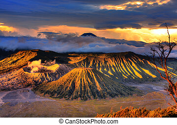 Volcanos - Bromo Tengger Semeru national park. Java....