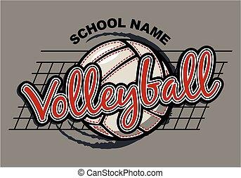 voleibol, desenho