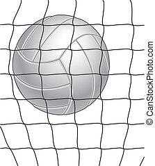 voleibol, e, rede