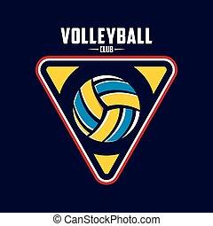 voleibol, logotipo