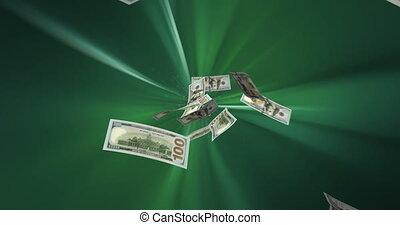voler, dollars