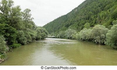 voler plus, géorgie, rivière