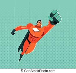voler, superhero
