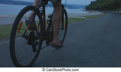 voleur, vélo voyageant