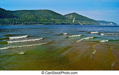 Volga River.