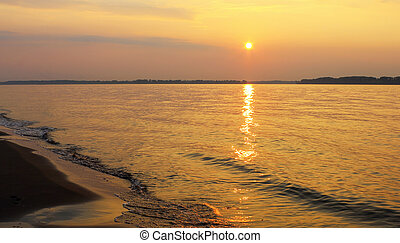 Volga sunset