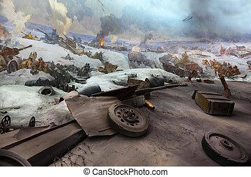 volgograd, mamaev, 19:, 9 月, 博物館, -, 19, パノラマである, volgograd, russia., 光景, 2010, kurgan