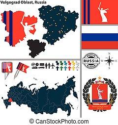 volgograd, oblast, rusia