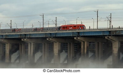 Passenger train Russian Railways - Volgograd %u2013 May 03:...
