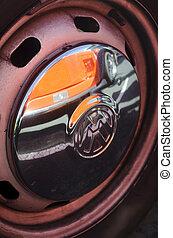 Volkswagen Beetle in Classic Car Show