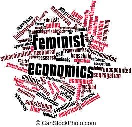 volkswirtschaft, feministin