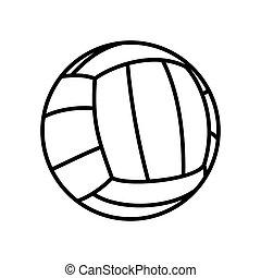 volleball, bola