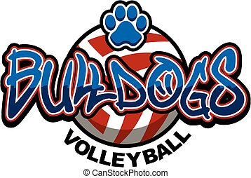 volley-ball, bouledogues