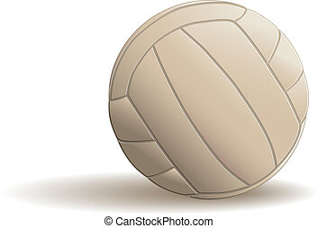 Volley ball - eps8 vector format