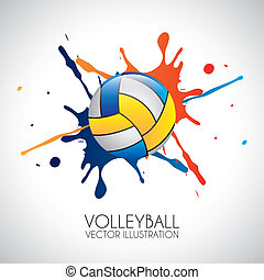 volley-ball, conception