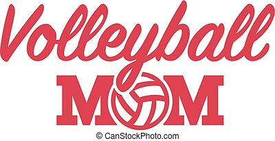 volley-ball, maman