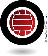 volleybal, logo