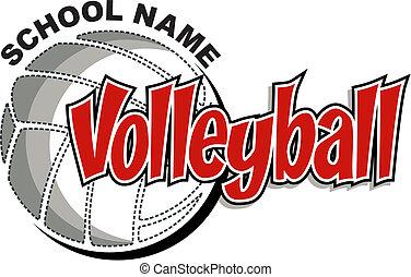 volleybal, ontwerp