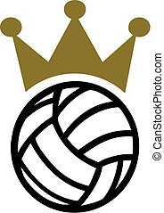 Volleyball Crown
