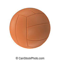 Volleyball isolated on a white background