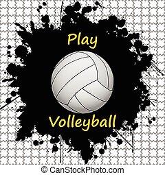 volleyball-sport-background