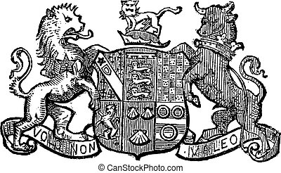 Volo Non Valeo a family motto assigned by King Charles II,...