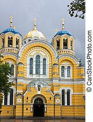 volodymyr's, ucrania, kiev, catedral, c/