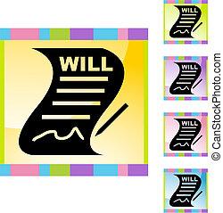 volonté, signé