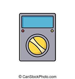 volt  flat color icon