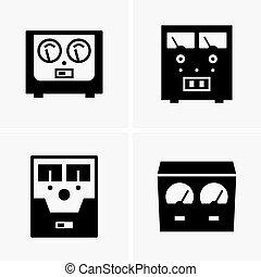 Voltage regulators - Set of four voltage regulators