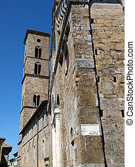 Volterra - Duomo and Bell Tower