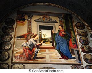 Volterra - Duomo interior