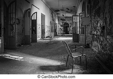 Volterra, Italy: Abandoned psychiatric hospital in Volterra. It was home to more than 6,000 mental patients but was shut down in 1978 because its practices were deemed cruel. The hospital was called 'the place of no return' because patients supposedly never returned home. Volterra, 2016