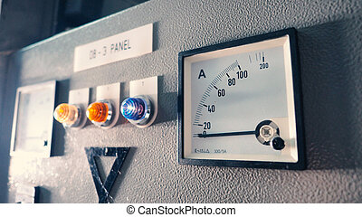 Voltmeter and ammeter electric machine and analog technology...