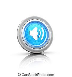 volume 3d button