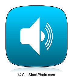 volume blue icon