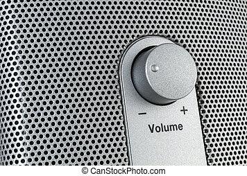 Volume control - sideways