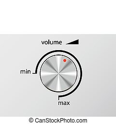 Volume control. - Volume Control of recording device is ...