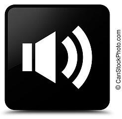 Volume icon black square button