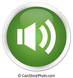 Volume icon green button