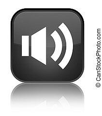 Volume icon special black square button