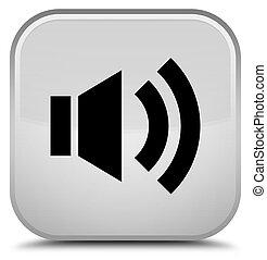 Volume icon special white square button