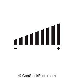 Volume icon vector for graphic design, logo, web site, social media, mobile app, ui illustration