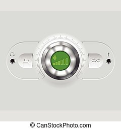 Volume knob with various outputs - Volume knob with ...