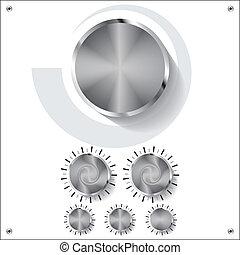 volume knobs
